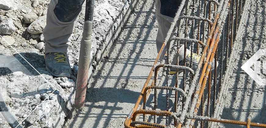 vibration beton