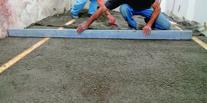 Comment couler une dalle de béton sur terre plein