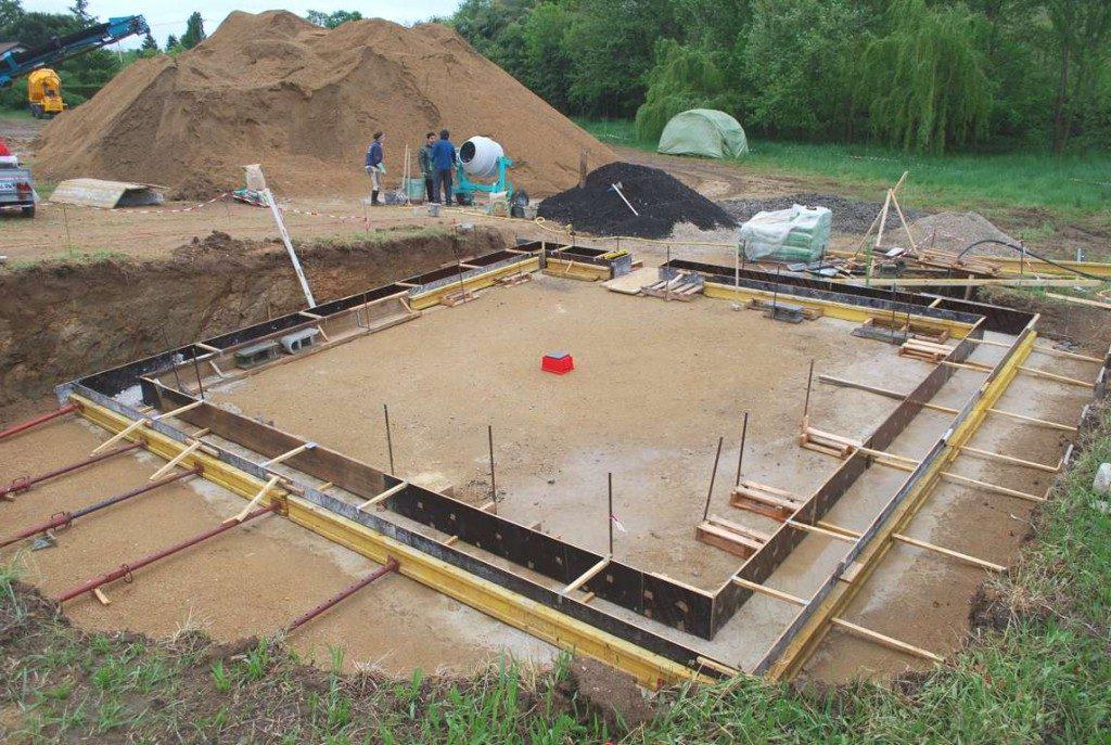 preparation fondations