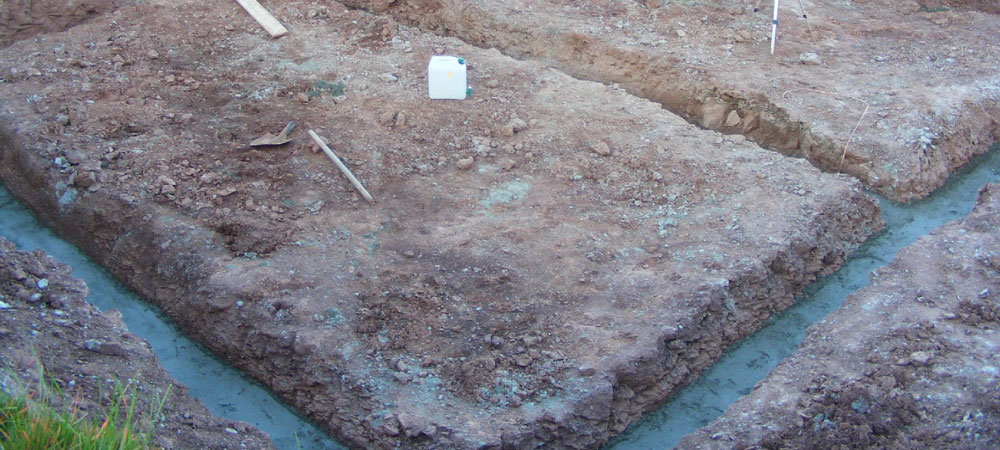 béton de propreté pour les fondations