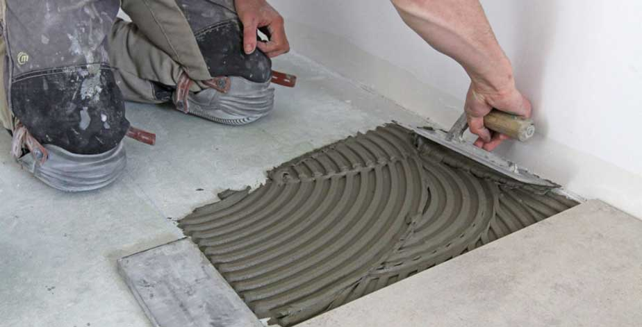 installation carrelage