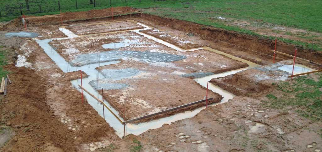 Fondation superficielle béton