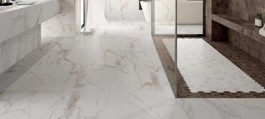 marbre blanc