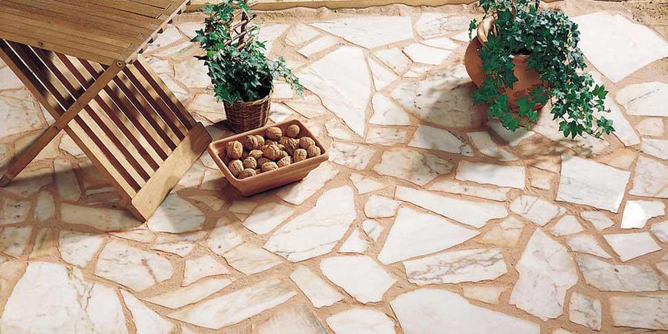 pierre pour une terrasse exterieure