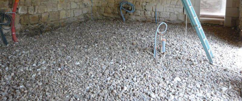 preparer support herisson pour beton