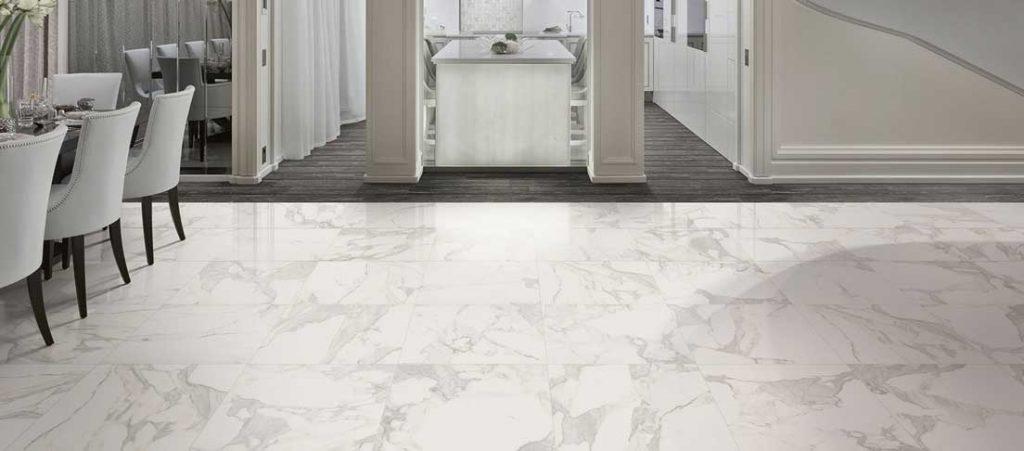sol en marbre