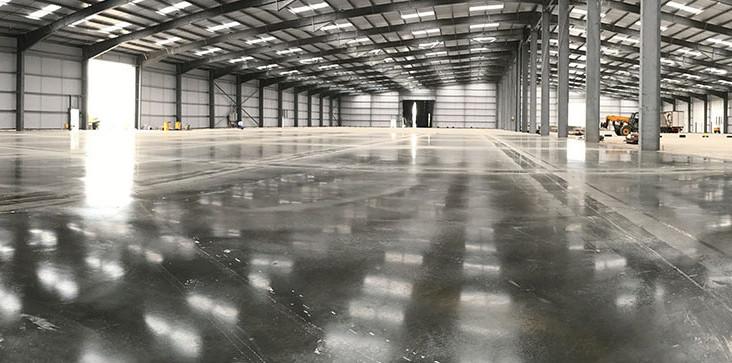 dallage sol industriel en beton