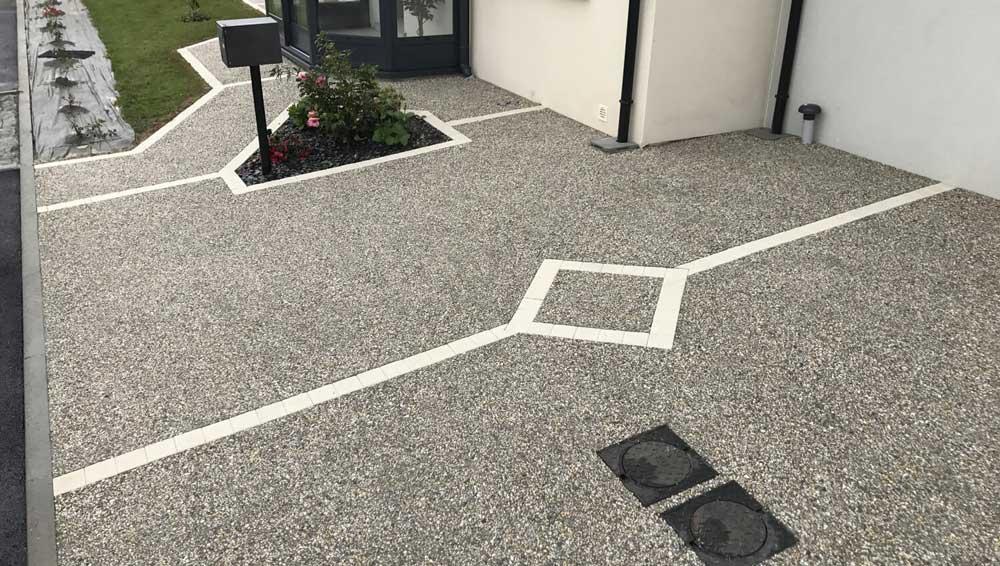 terrasse pas chère en beton
