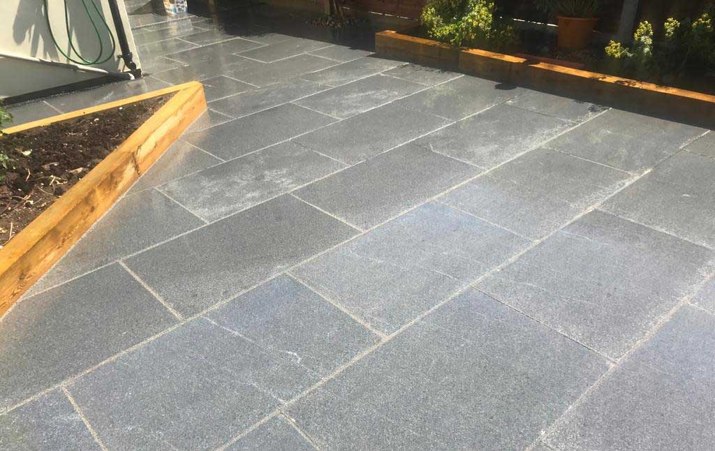 sol terrasse granit