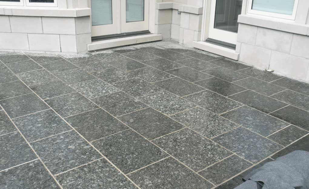 terrasse granit