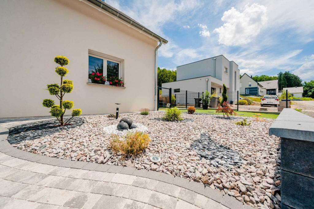 Terrasser jardin